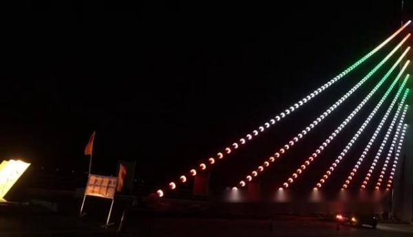 橋梁亮化夜景照明工程
